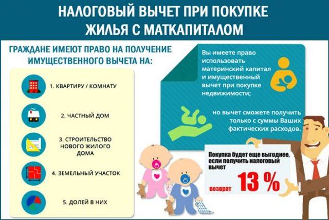 Материнский капитал и налоговый вычет в 2021 году