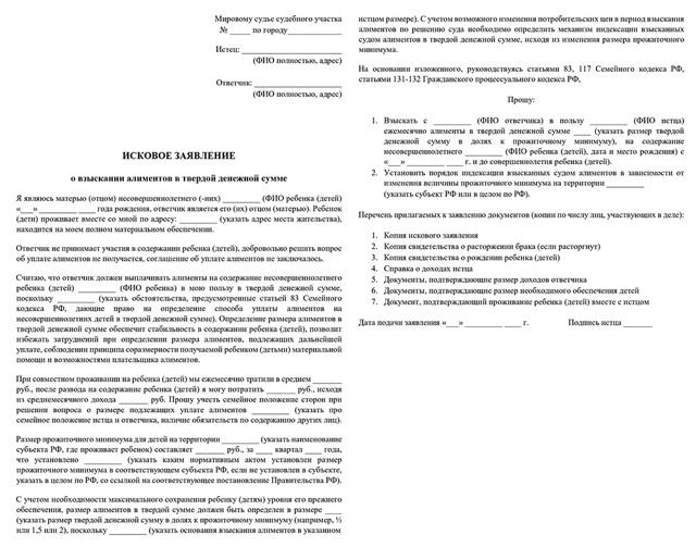 Какие документы нужны для подачи на алименты в 2021 году