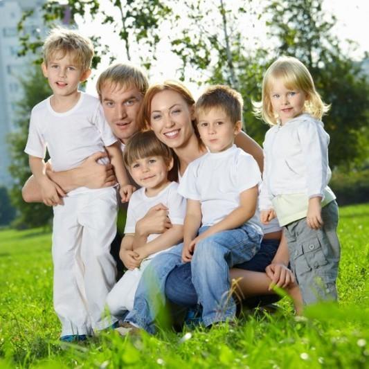 Какая семья считается многодетной (сколько детей) в 2021 году